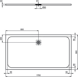 IS_UltraFlatS_K8285_PrListDrw_NN_shower-tray170x90